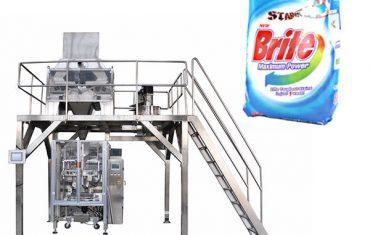 เครื่องซักผ้าผงซักฟอกขนาดเส้นผ่านศูนย์กลาง 4 หัวเครื่องบรรจุ