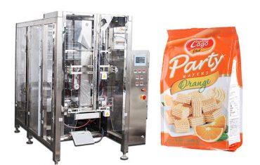 อาหารอัตโนมัติเต็มรูปแบบ quad ประทับตราถุงบรรจุเครื่อง