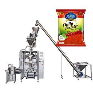 VFFS เครื่องบรรจุ Bagger กับ Auger Filler สำหรับผง Paprika และ Chilli Food