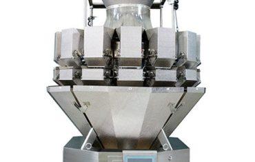 เครื่องชั่งน้ำหนัก multihead weigher เครื่องล้างอัดฉีดยี่ห้อ zm14d50