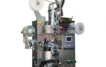 เครื่องบรรจุ teabag อัตโนมัติ zt-18 (พร้อมแท็กและกระดาษด้านนอก)
